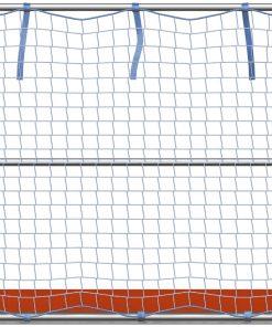 Layher Seitenschutznetz mit Gurtschnellverschluss 10