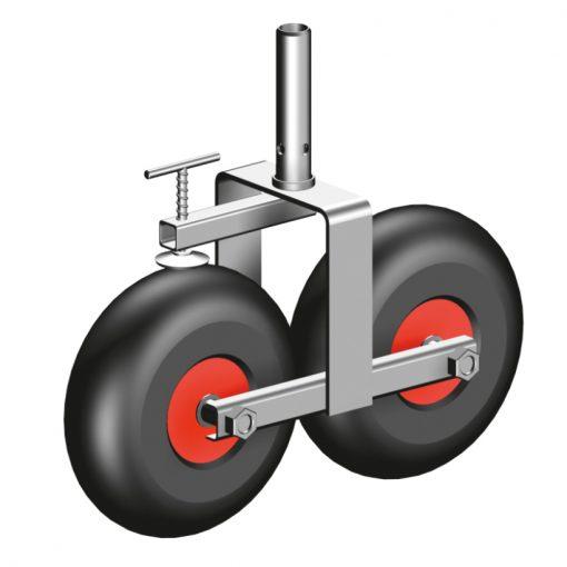 Layher Flachdach-Radsatz